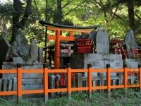 Fushimi Inari shrine hilltop torii Kyoto 2010 Micah Gampel