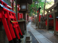 Fushimi Inari shrine hilltop Kyoto 2010 Micah Gampel