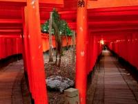Fushimi Inari torii crossroad Kyoto 2010 Micah Gampel