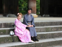 Beatriz Daniel Chion-In temple Kyoto 2013 Micah Gampel